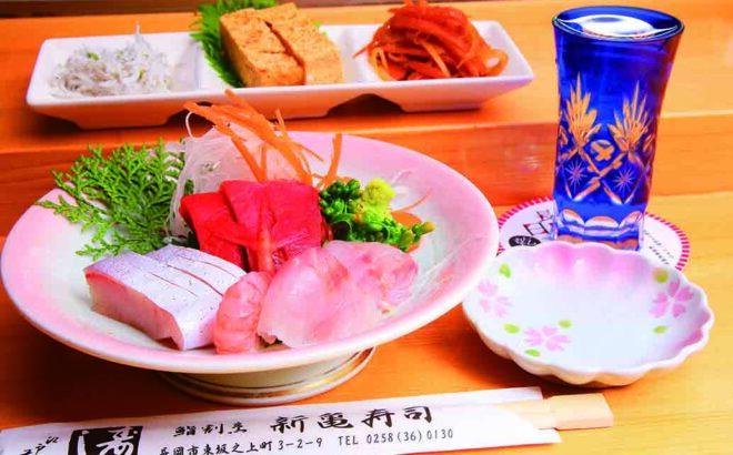 新亀寿司晩酌セットの写真