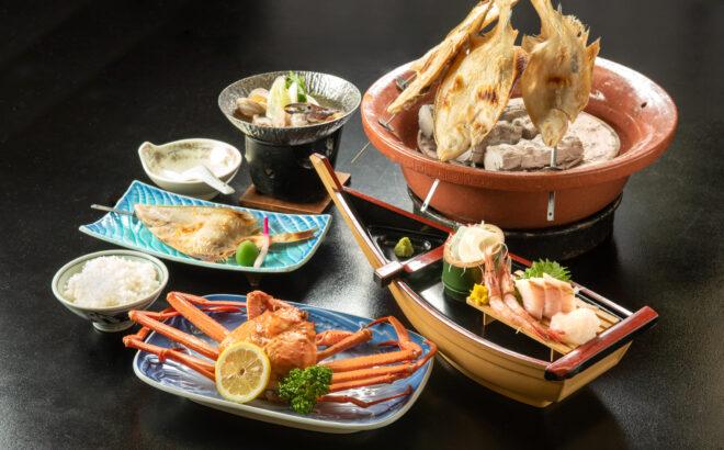 北前船寺泊海鮮定食の写真