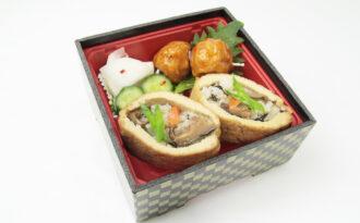 「栃尾寿司弁当」の写真